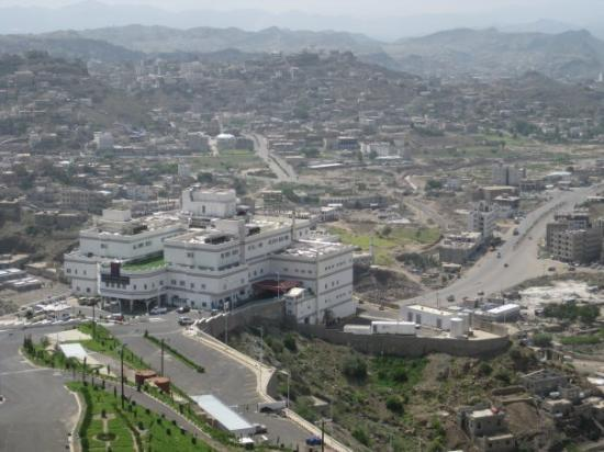 Al Saeed Hotel Taiz - MGallery Collection: Arial view of Taiz from the Sofitel Hotel Room