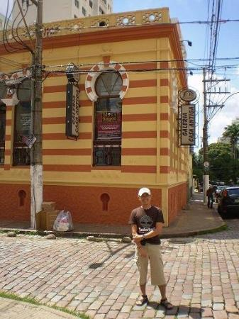 Campinas, Sao Paolo, Brazil..see cobble stones roads & alleys here...lots of old buidings
