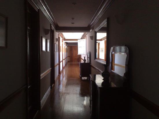 Hotel Patrimonial : Pasillo habitaciones