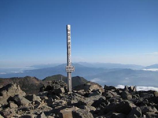 Mt. Ontake: 頂上からの景色