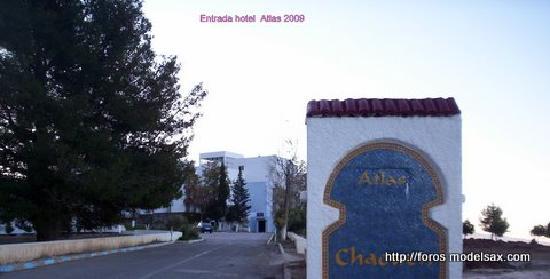 Hotel Atlas Chefchaouen: Entrada Hotel Atlas