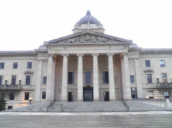 Manitoba Legislative Building: the legislative building. also a good place to smoke a joint.
