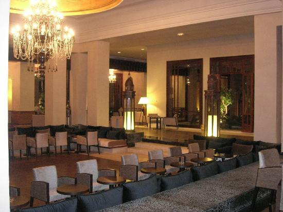 ClubHotel Riu Tikida Palmeraie : Une partie du hall