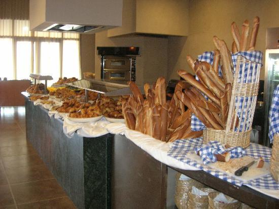 ClubHotel Riu Tikida Palmeraie : Petit déjeuner