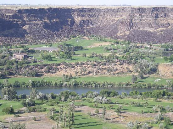Snake River Canyon in Twin Falls, Idaho