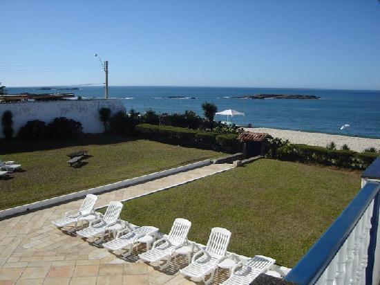 Pousada Espuma da Praia : view from the room