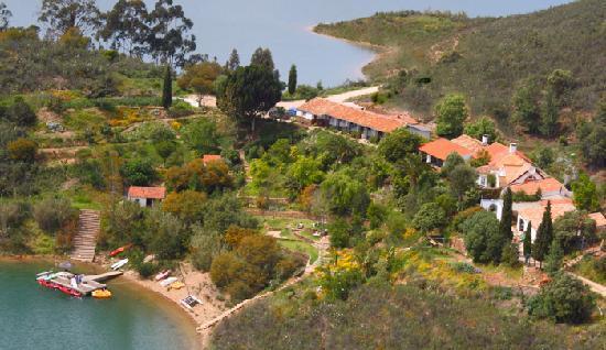 Quinta do Barranco da Estrada: The Quinta from the air