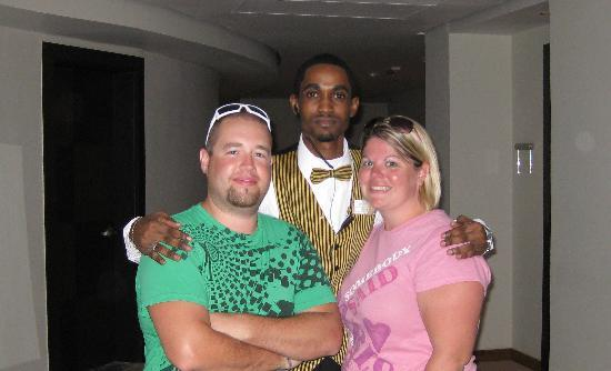 Iberostar Grand Hotel Rose Hall: Us and our Butler