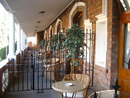 Kimberley Club: Balcony