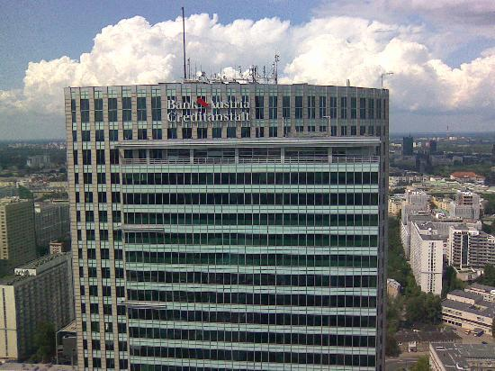 InterContinental Hotel Warsaw : View from the room