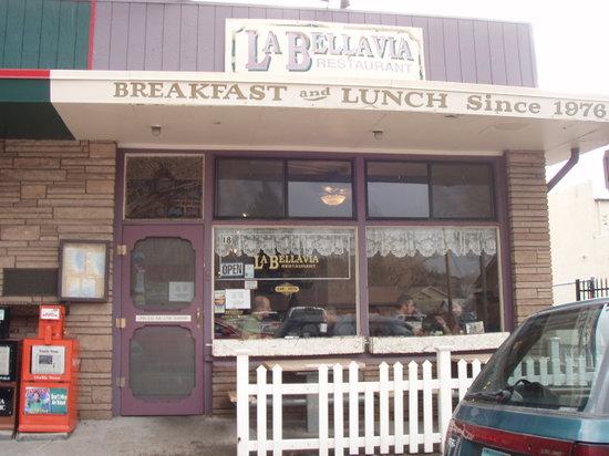 La Bellavia Restaurant: From outside