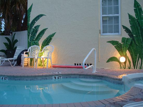 Island Paradise Cottages of Madeira Beach : Pool