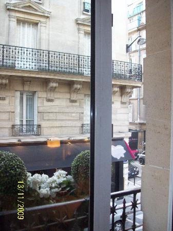 Hotel Duret: mini balcony