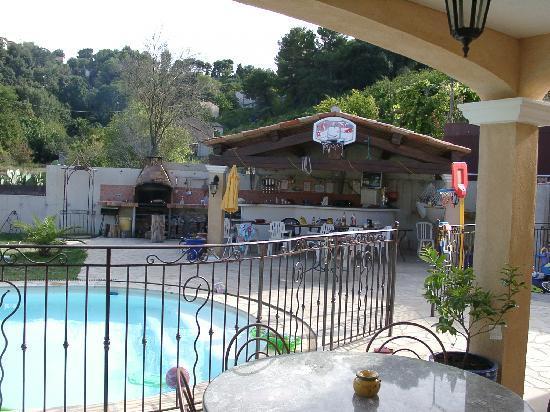 La villa Morena : Vue Sud ouest