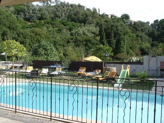 La villa Morena : Vue Sud-Est