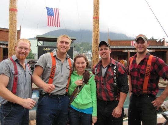 Great Alaskan Lumberjack Show: Lumberjack show, Alaska, Juneau