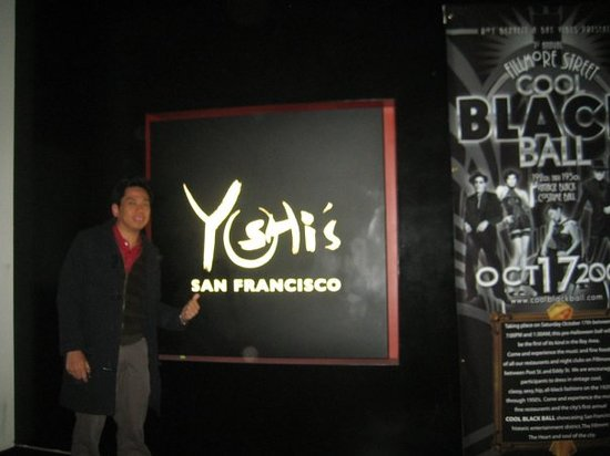 Yoshi's : Ending the night with jazz
