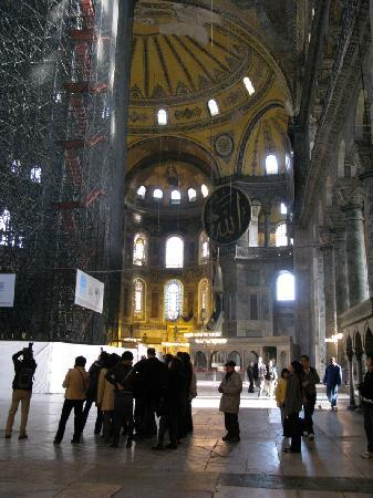 Arasta Boutique Hotel: The magnificent Hagia Sophia is within walking distance from the Hotel Arasta