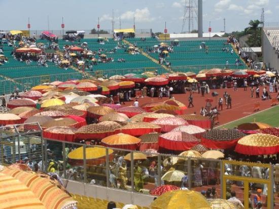 Kumasi, Ghana : Ashanti king aniversary in stadium