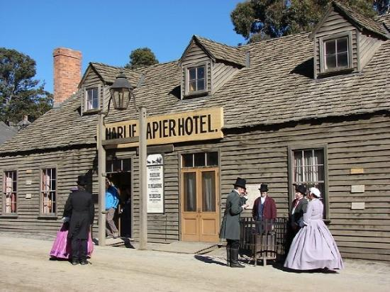 sovereign hill in ballarat:)