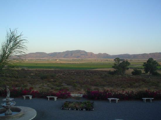 Hacienda Guadalupe Hotel: View from our room at sunrise