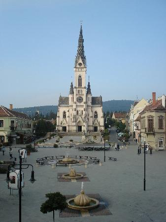 Koszeg, Hongaria: The view from our window