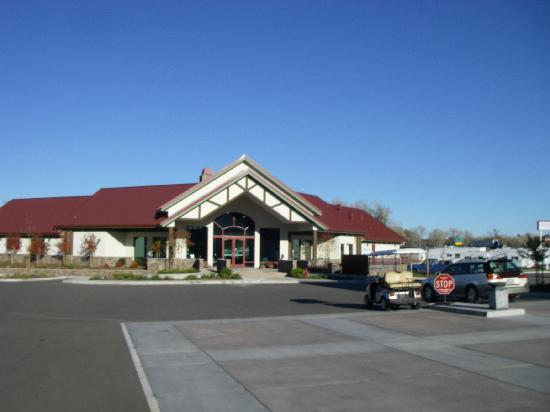 Durango RV Resort: Clubhouse and Business Center