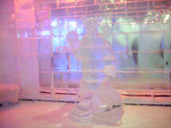 Icebar Orlando: The ice bear