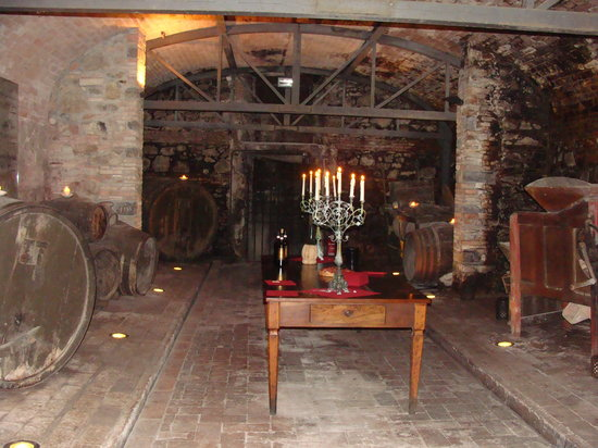 Italy Food Culture Tours: One of the cellars we tasted in.
