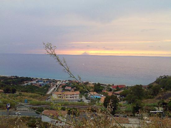 Tramonto da Zambrone (VV),Calabria