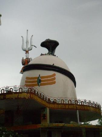 Ajmer, India: Shiva Temple located near the park