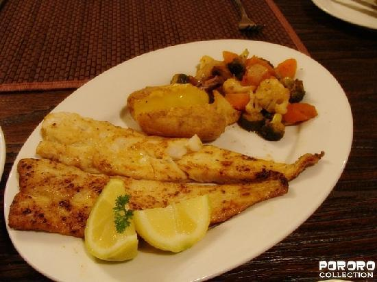 Harfield Guest Villa: Fish for dinner