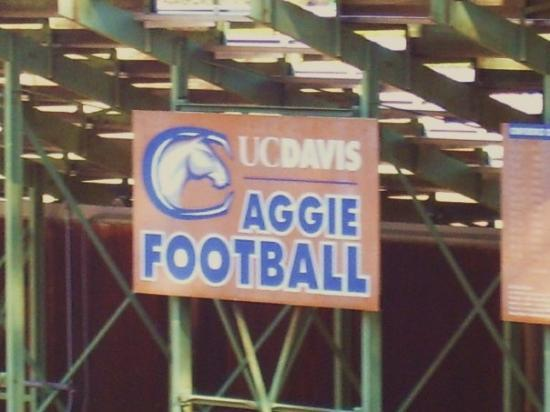 Davis Campus of the University of California: AGGIE football Divison I AA