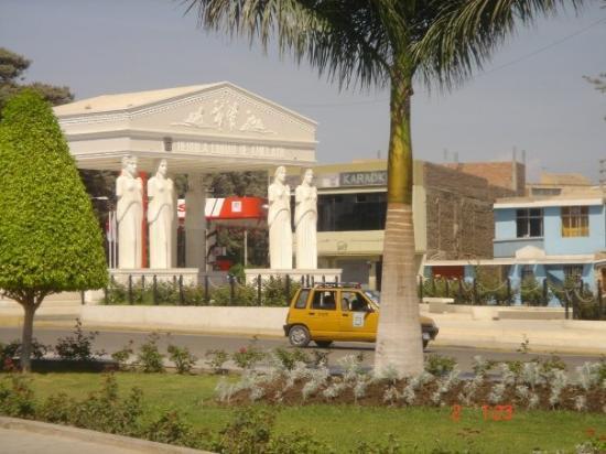 Chiclayo, Pérou : Parque de las Musas