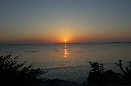 Karamba: puesta de sol desde el hotel karamba