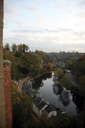 Knaresborough, UK: view to the left from room