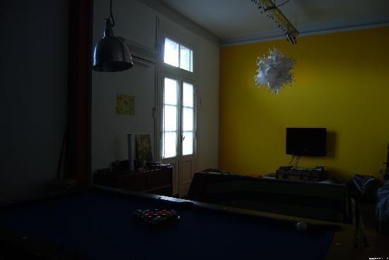 Rayuela Hostel: Living room