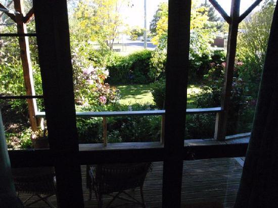 Villa Rosa Bed & Breakfast: Private entrance through garden