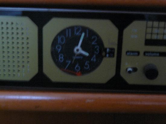 Parkhotel am Heger Holz: Zeiger ab, Uhr steht...wie lange eigentlich schon?