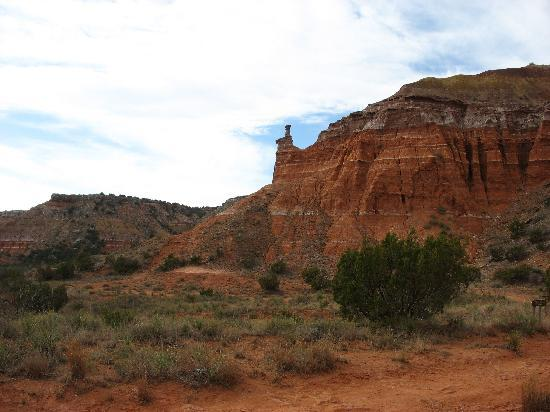 Hudspeth House Bed and Breakfast: Great hiking in Palo Duro Canyon nearby