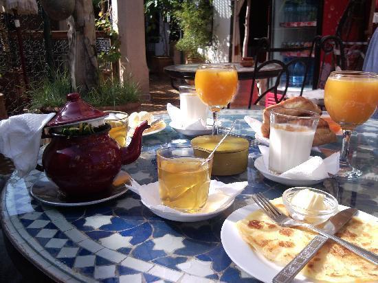 Jnane Mogador : colazione
