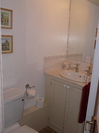 Below Stairs: Shower room