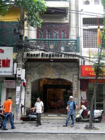 Hanoi City Palace Hotel: Hotel entrance