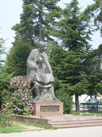 Monuments of Saints Cyril and Methodius