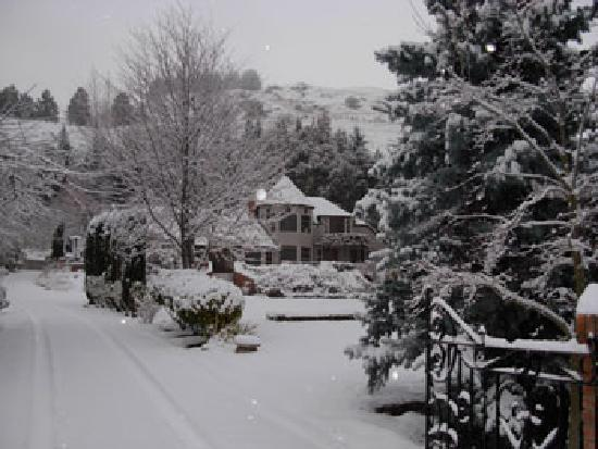 Winter at the Turret