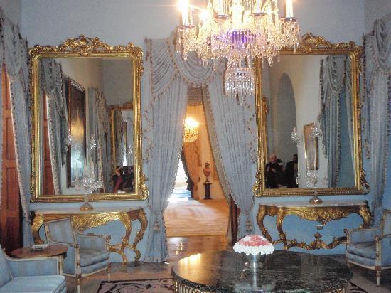 La Fortaleza - Palacio de Santa Catalina: The blue room