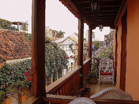 Hotel Casa del Curato: my balcony