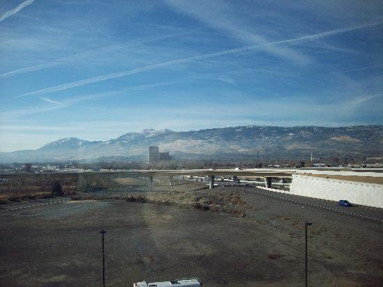Hyatt Place Reno Tahoe Airport: the awesome view from  my room.