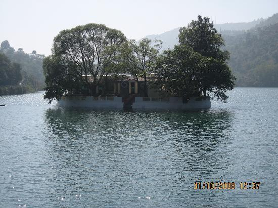 A Beautiful Island in Bhimtal
