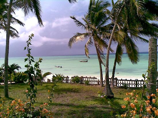 Swahili Beach Resort: The view from our room